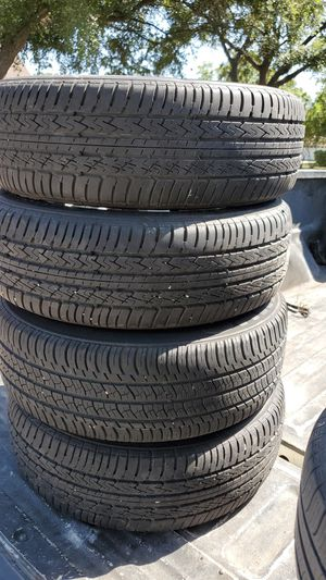 Honda accord rims and tires 4x114 for Sale in San Antonio, TX