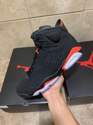 Jordan 6 Black Infrareds size 12 for Sale in Jacksonville, NC