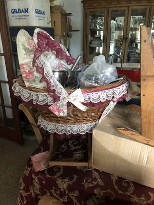 Doll cradle for Sale in Morrisville, PA