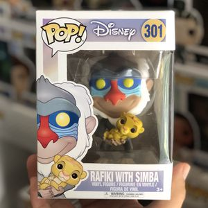 Funko Pop - RAFIKI WITH SIMBA - Lion King for Sale in Rowland Heights, CA