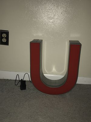 Lighted U for Sale in Westminster, CO