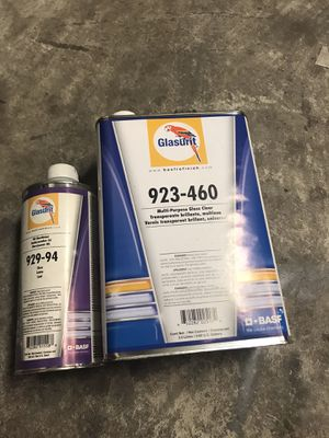 Glasurit clear coat and hardner for Sale in Dallas, TX