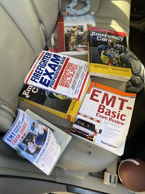 Emt/Firefighter Study Guides/Books for Sale in Oakland, CA