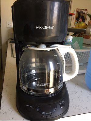 Mr. COFFEE 12 Cups programmable coffee maker for Sale in Torrance, CA