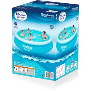 Bestway Fast Set 12ftx30in Inflatable Swimming Pool for Sale in Tampa, FL