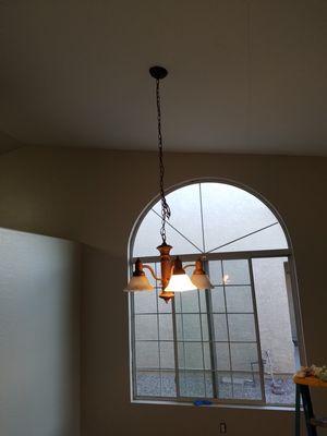Chandelier and wall light for Sale in Phoenix, AZ