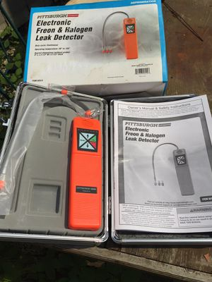 Electronic Freon & Halogen leak detector - NEW IN CASE #92514 for Sale in Massillon, OH
