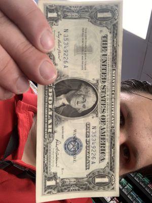 1957 Silver certificate dollar bill for Sale in Wheaton, IL