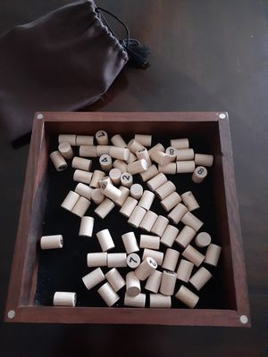 Sudoku with wood pegs for Sale in Tacoma, WA