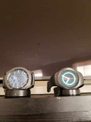 Samsung Galaxy Gear S3 Frontier and S2 sport for Sale in Washington, DC