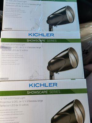 3 Brand new kichler 12v Flood lights for Sale in Morgantown, WV