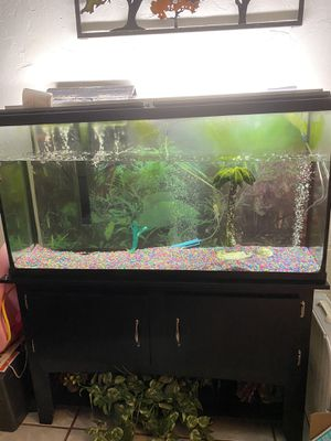 Fish Tank With Stand for Sale in Oklahoma City, OK