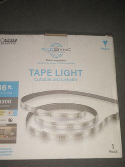 Onesync Led Light System Tape Light 16ft 3300lunens for Sale in Phoenix,  AZ