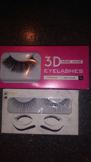Free lashes never used!glue not included! for Sale in Clinton Township, MI