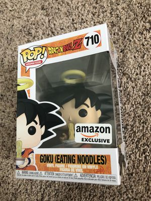Funko Pop Vinyl - Dragonball Z - Goku Eating Noodles 🍜 (SOLD-OUT Amazon Exclusive) 🐉 💥 for Sale in Fairfax, VA