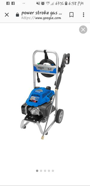 Power Stroke Gas Pressure Washer for Sale in Graham, WA