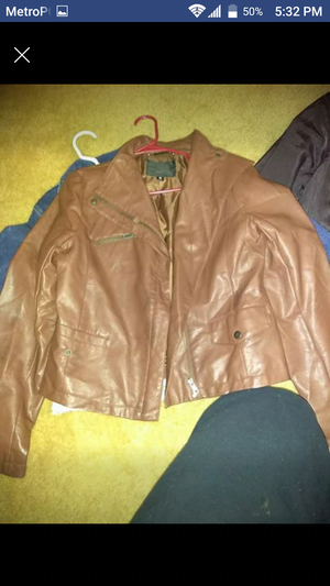 Leather jacket for Sale in Denver, CO