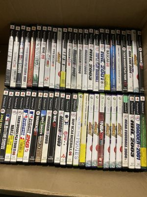 Lot of 50 PlayStation 2 and Xbox 360 games for Sale in Warwick, RI