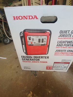 Honda eb2800 inverter generator for Sale in Durham, NC