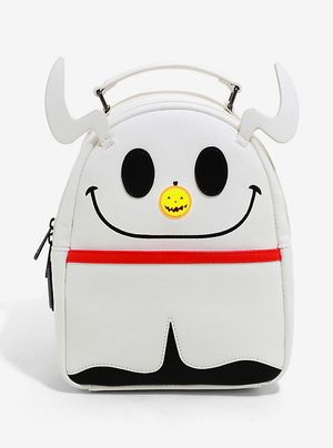 Loungefly The Nightmare Before Christmas Zero Glitter Light-Up Nose Backpack for Sale in Kissimmee, FL