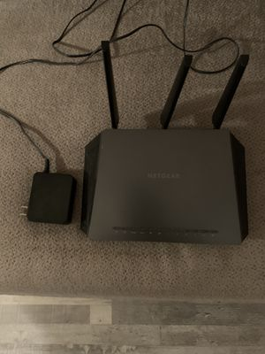 Netgear Nighthawk Smart WiFi Gaming Router for Sale in Fairmont, WV
