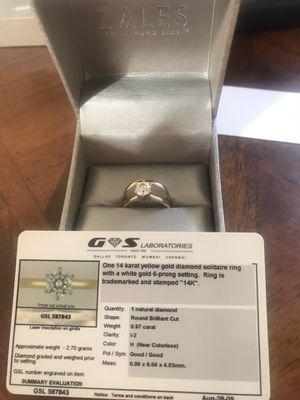 Engagement and wedding ring for Sale in Oviedo, FL