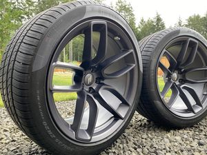 Challenger Charger Hellcat Widebody Wheels and Tires with sensors and lugs for Sale in Lacey, WA