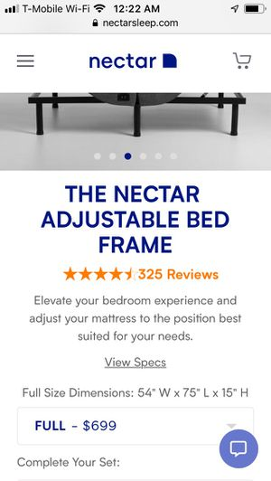 Nectar adjustable bed frame for Sale in North Miami, FL