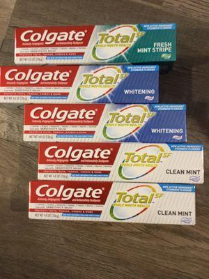 Colgate total SF toothpaste $2 each for Sale in San Bernardino, CA