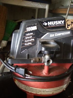 Husky air compressor for Sale in US