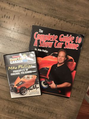 The Complete guide to a show car shine book and Principles of machine polishing DVD for Sale in Bristow, VA