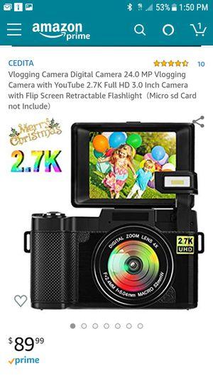 Digital camera 24mp for Sale in Tacoma, WA