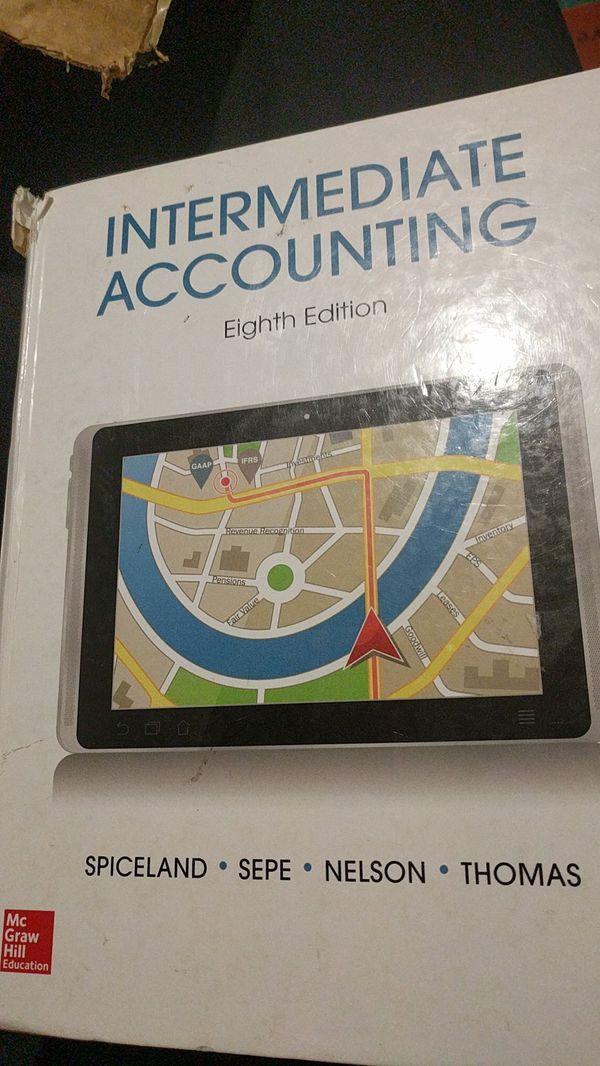 Intermediate accounting textbook