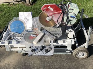 MK Diamond Products TILE SAW for Sale in Watsonville, CA