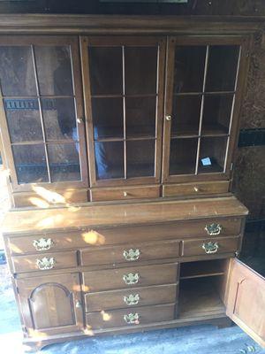 Table armore dresser cabinet for Sale in Alexandria, VA