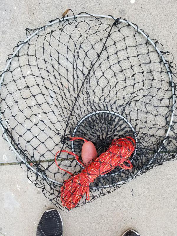 10 promar deluxe lobster & crab hoop net