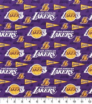 Lakers Cotton Fabric for Sale in Culver City, CA