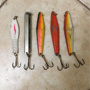 Fishing Deep Sea Jigs 4 oz to 14 oz for Sale in Madera, CA