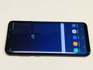 Unlocked Samsung Galaxy S8. Works with att, Tmobile, metro pcs, and cricket. Comes with charger. 360 cash only. Price is firm Let me know i for Sale in San Francisco, CA