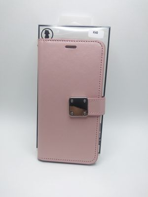 LG K40 Rose Gold case wallet. LG K40 Case Rose Gold Color. LG K40 cover wallet Rose Gold for Sale in Los Angeles, CA
