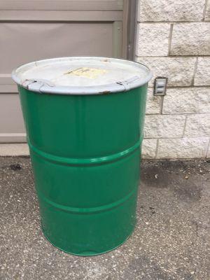 Food grade Metal Barrels with lids - 55 Gallon for Sale in Grosse Pointe Park, MI