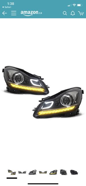 Mercedes c class 2012-14 AMG headlights for Sale in Hammond, IN