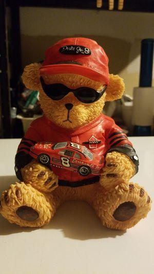 Dale Jr Teddy Bear Bank for Sale in St. Louis, MO