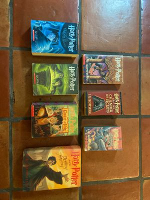 Complete Harry Potter Book Series (All 7 Books) for Sale in San Diego, CA