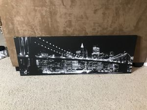 City Skyline Wall Decor for Sale in Lithonia, GA