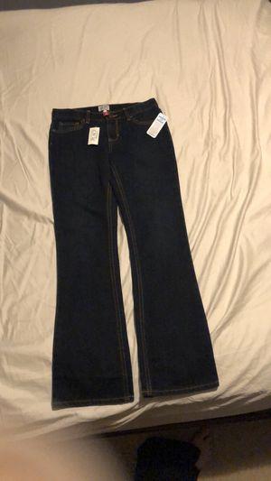 Brand new, girls dark blue boot cut jeans, size 12. for Sale in Apopka, FL
