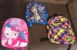 Small toddler backpacks $4 each for Sale in Mansfield, TX