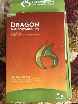 Dragon Naturally Speaking Speech Recognition Software for Sale in Floral City, FL