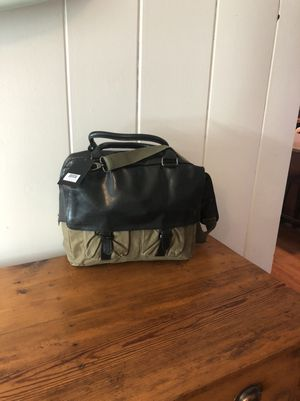 Canvas and leather briefcase NWT for Sale in Virginia Beach, VA