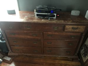 Antique Cherry Wood Dresser for Sale in Columbus, OH